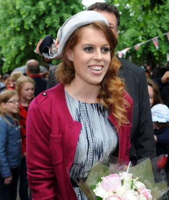 Princess Beatrice, June 3, 2012 in Stephen Jones | Royal Hats