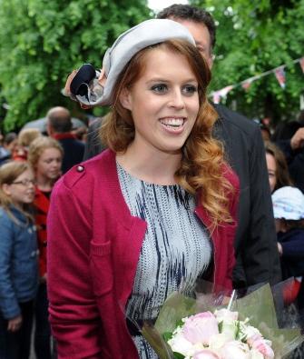 Princess Beatrice, June 3, 2012 in Stephen Jones   Royal Hats