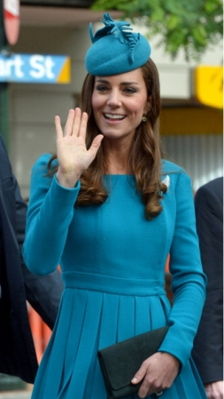 Duchess of Cambridge, April 13, 2014 in Jane Taylor   Royal Hats
