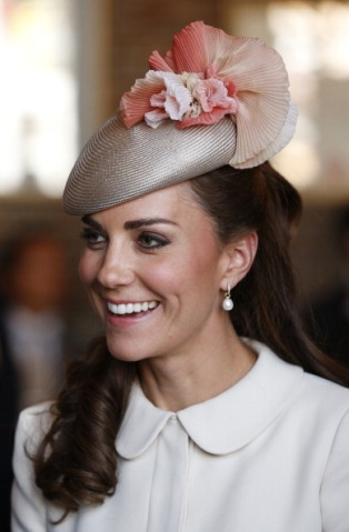 Duchess Of Cambridge, August 4, 2014 in Jane Taylor | Royal Hats