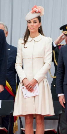 Duchess of Cambridge, August 4, 2014 in Jane Taylor   Royal Hats