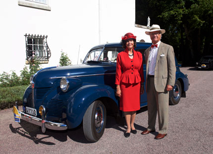 Queen Silvia, August 16, 2014 | Royal Hats