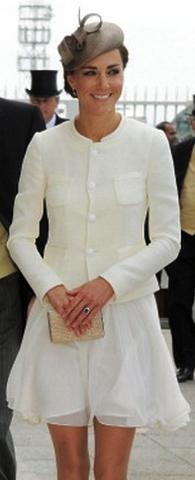 Duchess of Cambridge, June 4, 2011 in Whitely | Royal Hats