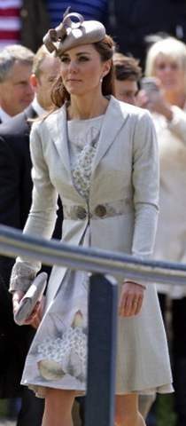 Duchess of Cambridge, June 9, 2012 in Whitely | Royal Hats