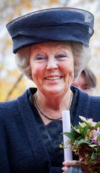 Queen Beatrix, November 9, 2012   Royal Hats