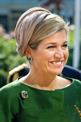 Queen Máxima, September 14, 2014 in Fabienne Delvigne | Royal Hats