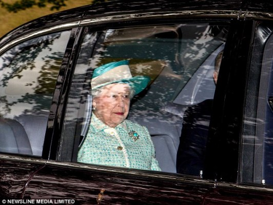Queen Elizabeth, September 28, 2014 | Royal Hats
