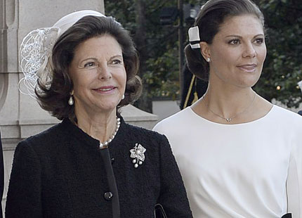 Queen Silvia, September 30, 2014 in Fabienne Delvigne | Royal Hats