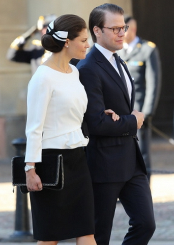 Crown Princess Victoria, September 30, 2014 in Evelina Persson | Royal Hats