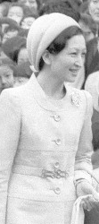 Crown Princess Michiko, March 7, 1974 | Royal Hats