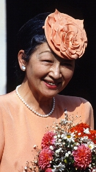 Empress Michiko, September 19, 1993| Royal Hats
