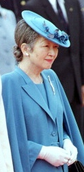 Empress Michiko, December 1, 1999 | Royal Hats