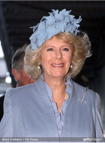 Duchess of Cornwall, December 10, 2007 in Philip Treacy | Royal Hats