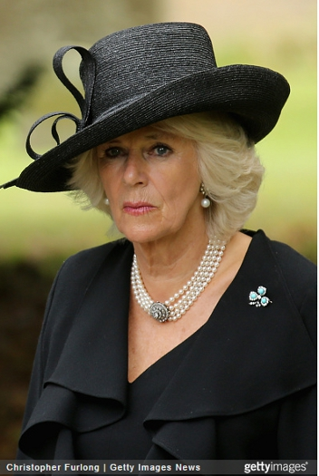 Duchess of Cornwall, October 2, 2014 in Lock & Co. | Royal Hats