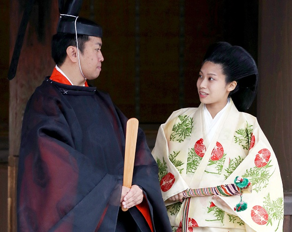 Princess Noriko and Kunimaro Senge, October 5, 2014 | Royal Hats