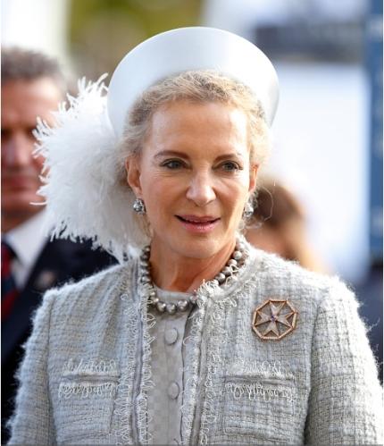 Princess Michael of Kent, October 18, 2014 in John Boyd   Royal Hats