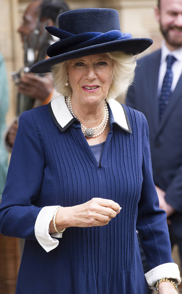 Duchess of Cornwall, October 20, 2014 in Philip Treacy | Royal Hats