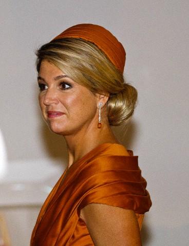 Queen Máxima, October 29, 2014 in Fabienne Delvigne | Royal Hats