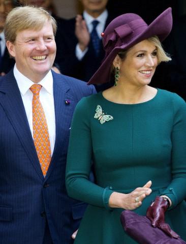 Queen Máxima, October 30, 2014 in Fabienne Delvigne | Royal Hats