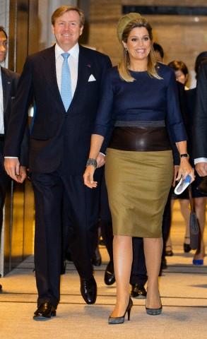 Queen Máxima, October 31, 2014 in Fabienne Delvigne | Royal Hats