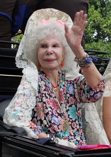 Duchess of Alba, April 4, 2011  | Royal Hats