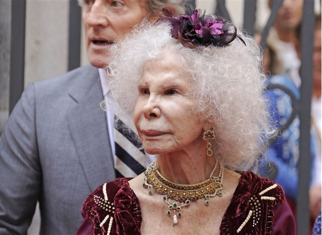 Duchess of Alba, October 11, 2013  | Royal Hats