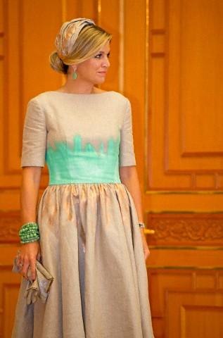Queen Máxima, November 3, 2014 in Fabienne Delvigne | Royal Hats