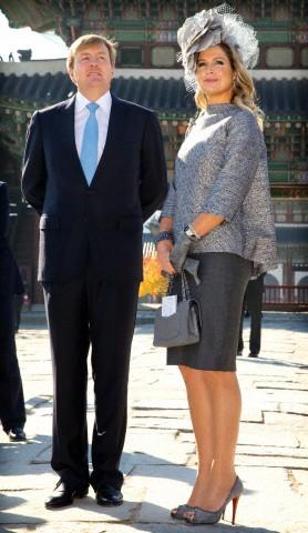 Queen Máxima, November 4, 2014 in Fabienne Delvigne | Royal Hats