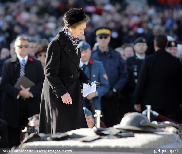 Princess Anne, November 11, 2014 | Royal Hats
