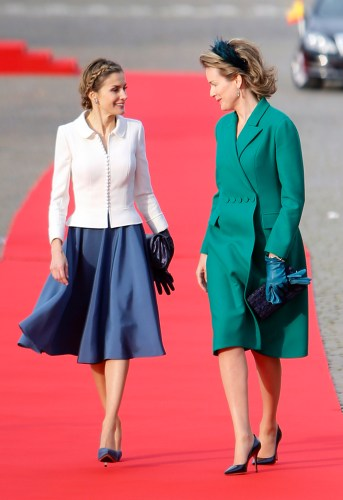 Queen Mathilde, Novemer 12, 2014 | Royal Hats