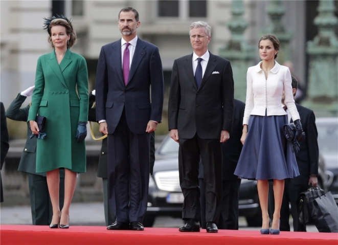 Belgian and Spanish monarchs, Novemer 12, 2014 | Royal Hats