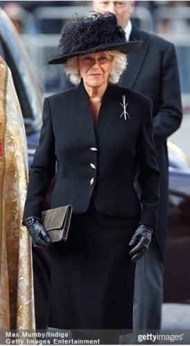 Duchess of Cornwall, November 20, 2014 in Philip Treacy | Royal Hats