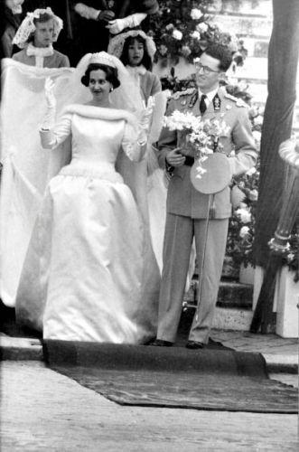 Wedding of King Baudouin of Belgium and Fabiola De Mora Y Aragon, December 15, 1960 | Royal Hats