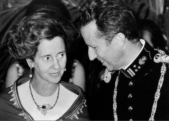King Baudouin and Queen Fabiola, May 1978