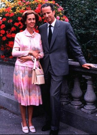 King Baudouin and Queen Fabiola, October 6, 1981