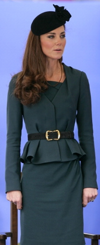 Duchess of Cambridge, March 8, 2012 in Sylvia Fletcher for Lock & Co. | Royal Hats
