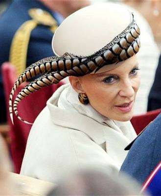 Princess Michael of Kent, May 17, 2012 in John Boyd | Royal Hats