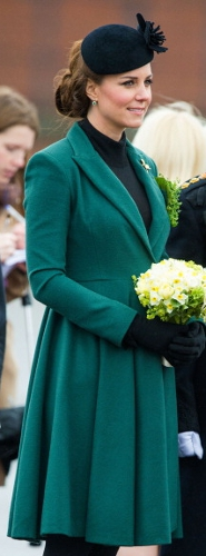 Duchess of Cambridge, March 17, 2013 in Sylvia Fletcher for Lock & Co. | Royal Hats