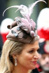 Queen Máxima, January 23, 2014 in Fabienne Delvigne | Royal Hats