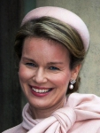 Queen Mathilde, February 6, 2014 in Dior | The Royal Hats Blog