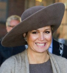 Queen Máxima, February 12, 2014 in Fabienne Delvigne | Royal Hats