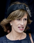 Princess Marie-Esmeralda, February 18, 2014 | The Royal Hats Blog