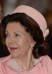 Queen Silvia, March 2, 2014 | Royal Hats