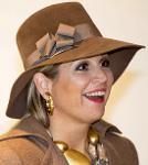 Queen Máxima, March 27, 2014 in Fabienne Delvigne | Royal Hats