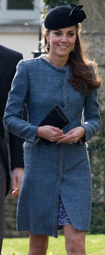 Duchess of Cambridge, March 29, 2014 in Sylvia Fletcher for Lock & Co. | Royal Hats