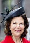 Queen Silvia,  April 4, 2014 in Whitely | Royal Hats