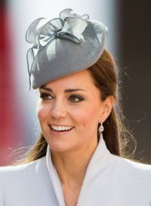 Duchess of Cambridge, April 20, 2014 in Jane Taylor | The Royal Hats Blog