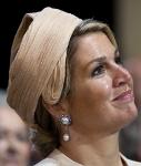 Queen Máxima, May 6, 2014 in Fabienne Delvigne | Royal Hats