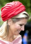 Queen Máxima, May 28, 2014 in Fabienne Delvigne | Royal Hats