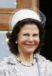 Queen Silvia, June 6, 2014 in Fabienne Delvigne  | Royal Hats